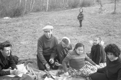 Маёвка 2мая1965г Ефимов Крымский Чириков
