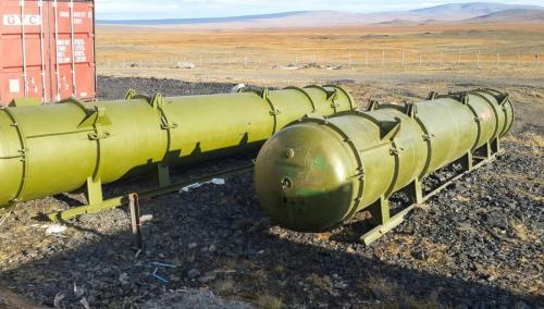 Двигатели ракет на основе каучуковых смесей